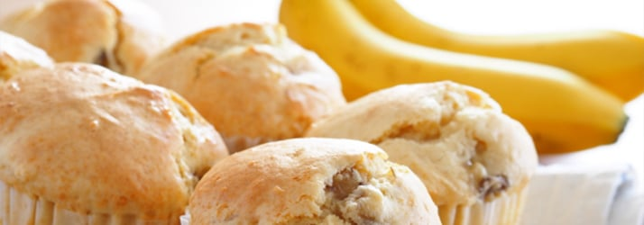 Fall Banana Muffins