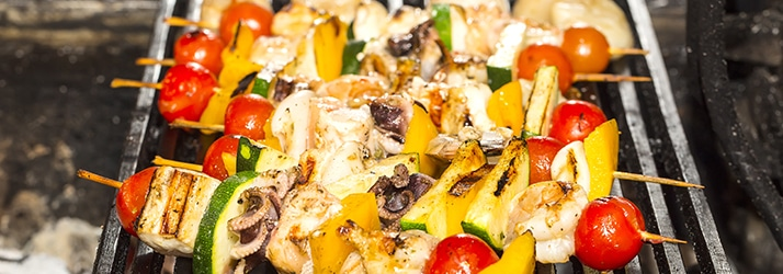 Summer-Grilled Chicken Kabobs