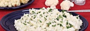Super Simple Mashed Cauliflower