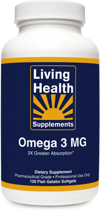 Living Health Supplements Omega 3 MG